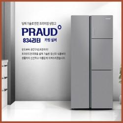 위니아 딤채 양문형 냉장고  834L WRK839EJCS 장기할부 시스템